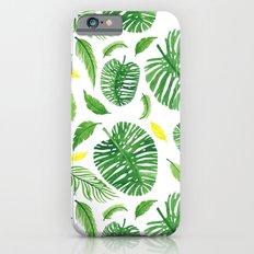 Palm leaf pattern Slim Case iPhone 6s