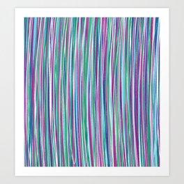 *STRIPE_COMPOSITION_3 Art Print