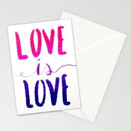 Love is Love - bi Stationery Cards