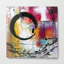 Enso Abstraction No. mm15 Metal Print