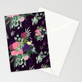 Cannabis Floral Bouquet Stationery Cards