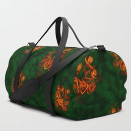 Victorian inspired Floral Pattern 2 Duffle Bag