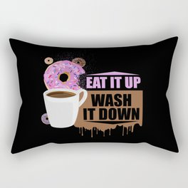 Eat It Up - Wash It Down Rectangular Pillow