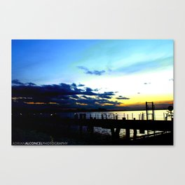 Light vs. Dark Canvas Print