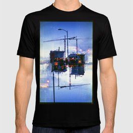 America ducking the question of origins (35mm multiple exposure) T-shirt