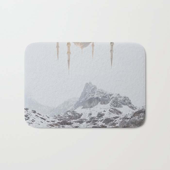 Between Earth & City III Bath Mat
