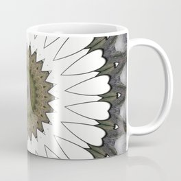 Mandala of everyday love with hearts and Cupid arrows Coffee Mug