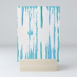 Aqua 5 Mini Art Print
