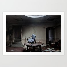 Party's Over Art Print
