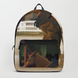 Pure Horsepower - Horse Pulling Event Backpack