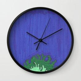 Instillation 9 Wall Clock