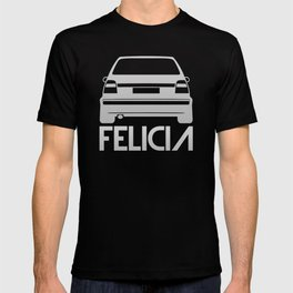 Skoda Felicia - silver - T-shirt