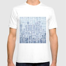 city planning Mens Fitted Tee White MEDIUM