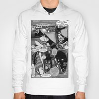 infamous Hoodies featuring  Bird of Steel Comix – #8 of 8  - (Society 6 POP-ART COLLECTION SERIES) by Tex Watt