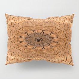 Wooden Flower Ring kaleidoscope Pillow Sham