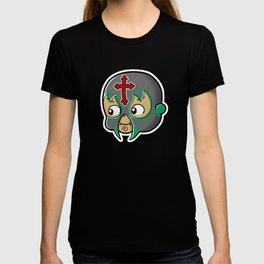 Mexican Wrestler Kewpie Baby / Lucha libre T-shirt