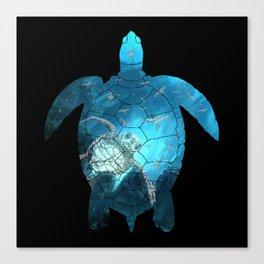 Sea Turtle - Under The Sea Canvas Print