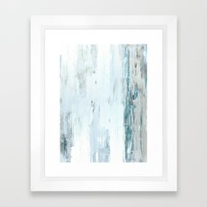 Rain Drops Framed Art Print