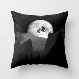 Moon Jump Throw Pillow