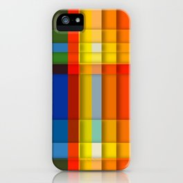 rectangle layers iPhone Case
