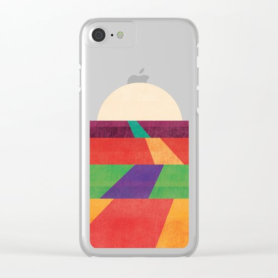 The path leads to forever Clear iPhone Case