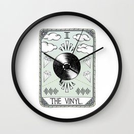 The Vinyl Wall Clock