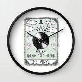 The Vinyl Wall Clock