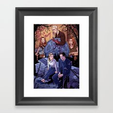 Conversations With Dead People Framed Art Print
