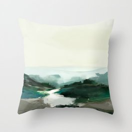 Highland View Throw Pillow