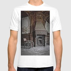 lost fireplace Mens Fitted Tee White MEDIUM