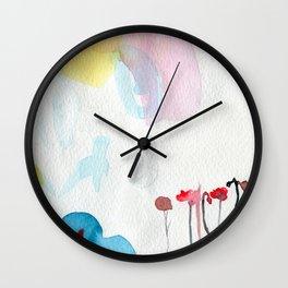 Study of paradise #1 Wall Clock