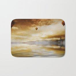 Hot Air Balloon Escape Bath Mat