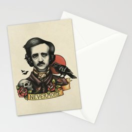 Edgar Allan Poe Raven Nevermore Stationery Cards
