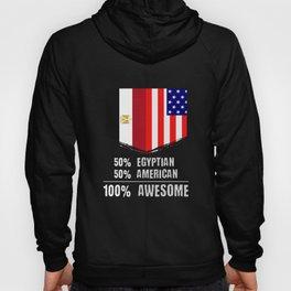 50% Egyptian 50% American 100% Awesome Hoody