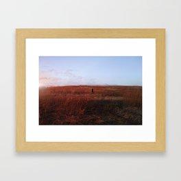 burnt offering Framed Art Print