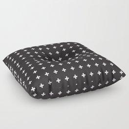 SWISS CROSSES Floor Pillow