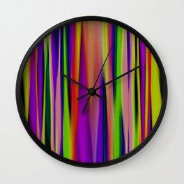 Up Down Crayola Wall Clock