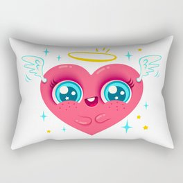 Angel heart Rectangular Pillow