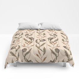Poppy Pod Pattern Comforters