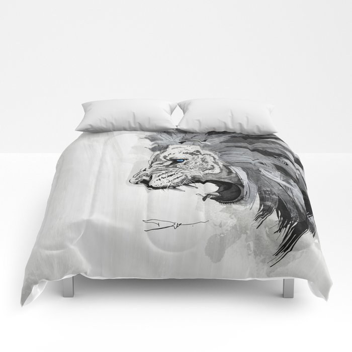 Lion - The king of the jungle Comforters