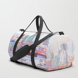 Colorful London Duffle Bag