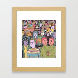 The Gathering Framed Art Print