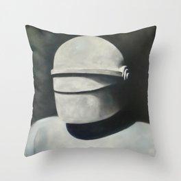 Gort: Klaatu barada nikto Throw Pillow