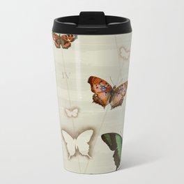 Butterfly Coordinates iii Metal Travel Mug
