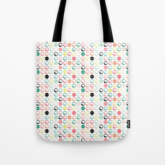 Brain Dots Tote Bag