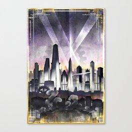 Art Deco Metropolis Canvas Print