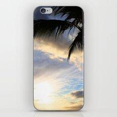 Hawaiian Palm at Sunset iPhone & iPod Skin
