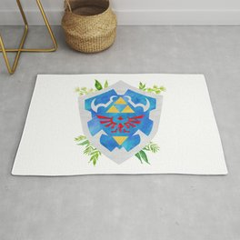 One Shield to Hyrule Them All Rug