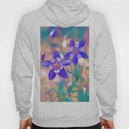 Colorado Columbine Flower Hoody