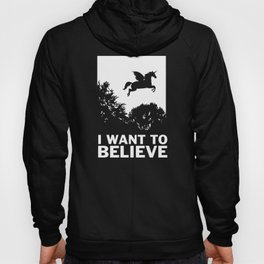 I Want To Believe Unicorns Hoody